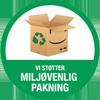Kikkert Shoppen støtter Miljøvenlig pakning
